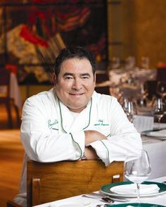 Emeril Lagasse who is a famous chef that frequently cooks using various protein sources.