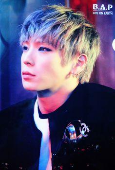 B.A.P ~ Rain Sound- Himchan. Gosh darn he is so beAutifuuuuuuul!!!!