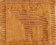 Knitting Cloth Pattern  PANDA BEAR  PDF