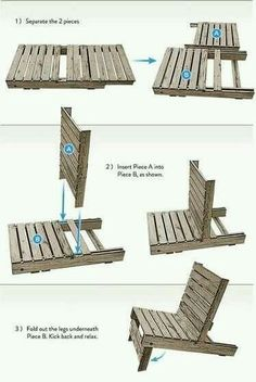Wow! This pallet diy looks super easy to make.