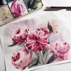 Watercolorist: @irina_sart #waterblog #акварель #aquarelle #drawing #art #artist #artwork #painting #illustration #watercolor #aquarela