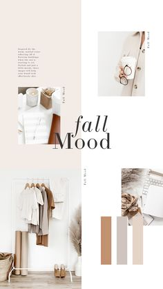 Beautiful Fall color inspiration for your branding & graphic design needs. Web Design, Layout Design, Logo Design, Inspiration Boards, Color Inspiration, Moodboard Inspiration, Cv Website, Website Ideas, Mode Collage