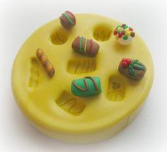 DIY Miniature Dollhouse Candy TINY Polymer Clay by WhysperFairy