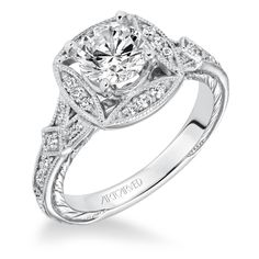 Inside and Out Engagement Ring