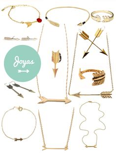 Arrow jewelry... I want them all!