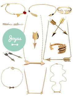 Arrow jewelry... I want them all!