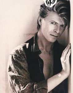such a handsome beast...david bowie <3