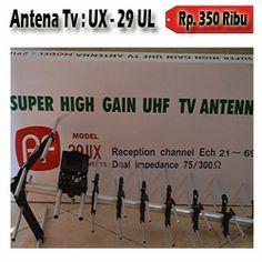 Paket Antena TV PF UX-29 Rp. 350.000