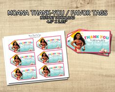Items Similar To MOANA FAVOR TAGS
