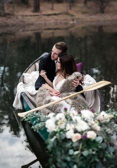 Lake Canoe wedding
