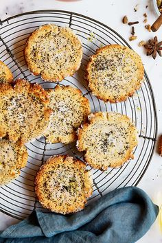 They look like cafe creations but these soft-centred biscuits are easy to make at home. Biscuit Cookies, Biscuit Recipe, Cookie Recipes, Dessert Recipes, Desserts, Honey Lemon, Better Homes And Gardens, Tray Bakes, Poppies