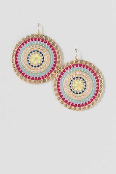 Aphroditie Enamel Drop Earrings