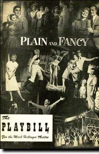 Plain and Fancy at the Mark Hellinger Theatre. Jan 1956