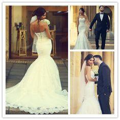 Wedding Dress, Sweetheart Wedding Dress, White Wedding Dress,