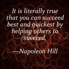 Citations Réussite & Succes: How can YOU help someone succeed? That's the million dollar question to ask … Words Quotes, Wise Words, Me Quotes, Motivational Quotes, Inspirational Quotes, Sayings, Career Quotes, Wisdom Quotes, Success Quotes