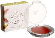 Garden Botanika Lip & Cheek Stain, Cherry, 0.09-Ounce Boxes