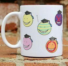 Korosensei, different, faces, expressions, Assassination Classroom, mug, cup; Anime Stuff I Want