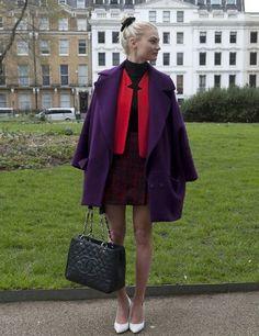 London Fashion Week Autumn Winter 2013 Street Style | ELLE UK