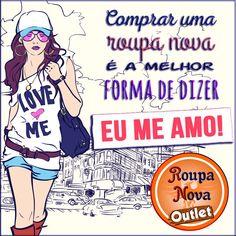 Na Roupa Nova Outlet você pode bancar sua vaidade. #RoupaNova #Outlet #PreçoBaixo #Moda #Fashion