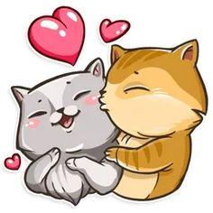 Набор стикеров для Telegram «Кошки» Keanu Reeves, Pusheen Stickers, Harry Potter Stickers, Trump Stickers, Smiley Emoji, Telegram Stickers, Cats And Kittens, Cute Cats, Cat Lovers