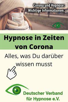 Aktuelle Informationen zu Corona und Hypnoseterminen. Deutscher Verband für Hypnose e.V. (DVH).  Corona und Hypnose, wichtige Informatioen zu Hypnose vor Ort, Hypnose per Telefon und Hypnose per Video. #hypnose #hypnosetherapie #hypnotherapie #hypnosecoaching #dvh  #telefonhypnose #videohypnose Coaching, Interview, A Good Man, Videos, Guys, Nice, Corona, Further Education, Deutsch