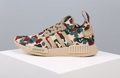 1ea957ae9 Adidas NMD New Camouflage Main Green Khaki Shoes Hot Sale Online Adidas Nmd