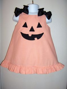 custom boutique childrens clothing girl dress applique monogrammed birthday outfit. $37.99, via Etsy.