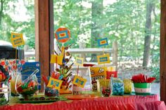 Dr. Seuss Birthday Party ideas (additional ideas linked)
