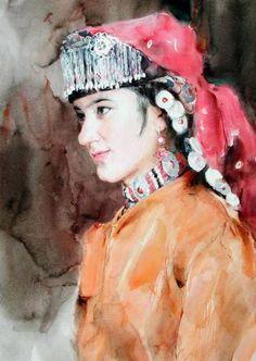 Guan Weixing - 1998_Tajik-bride
