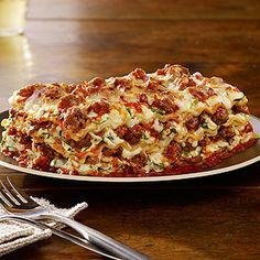 lasagna noodles, olive oil, Johnsonville® Mild Italian Ground Sausage ...