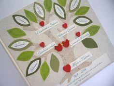 Album Anniversario con albero genealogico