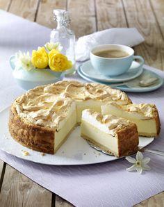 Unser beliebtes Rezept für Goldtröpfchen-Torte (Käsekuchen mit Baiserhaube) und mehr als 55.000 weitere kostenlose Rezepte auf LECKER.de.