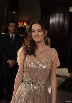 Gossip Girl, Blair's vintage style dress. Love her and love this dress!!