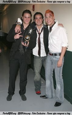 Premios Juventud 2005 - HQ - RBD Fotos Rebelde | Maite Perroni, Alfonso Herrera, Christian Chávez, Anahí, Christopher Uckermann e Dulce Maria