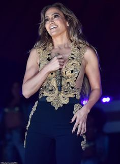 Jennifer Lopez, Billie Eilish and Doja Cat lead the stars across the world at Global Citizen Live | Daily Mail Online