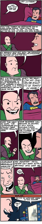 Found the plot of Batman vs. Superman (SMBC)