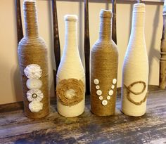 Why not start decorating those wine bottles