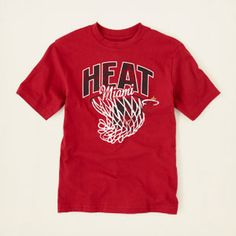 boy - graphic tees - Miami Heat graphic tee | Children's Clothing | Kids Clothes | The Children's Place