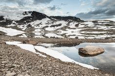 Sognefjell, Jotunheimen, Norge. 28 June 2014.