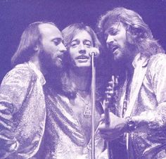 The Bee Gees, can't beat the 70's music