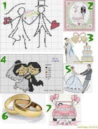 Resultado de imagen de cross stitch wedding samplers free patterns