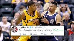 NBA Players React to Paul George Trade to OKC Thunder