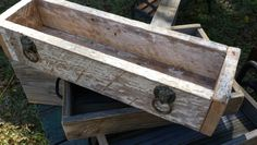Rustic box by Alfred Laurent in Morganza Louisiana Woodworking Enthusiasts, Louisiana, Storage Chest, Rustic, Box, Projects, Furniture, Home Decor, Lawn And Garden