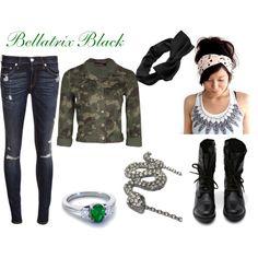 """Bella Black"" by gemkjo on Polyvore"
