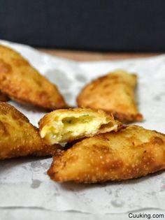 Empanadillas italianas de queso
