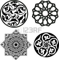 motif arabesque: Ornement islamique