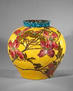 John Bennett - Vase c.1882 NY Gilded Age.