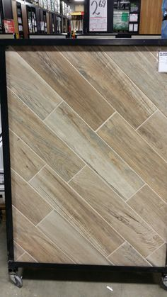 Floor And Decor Wood Tile Soft Ash Wood Plank 6 X 40 $349Sq Foot Floor And Decor  Tile