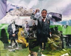 Art Lesson Plan: Romare Bearden Collage - Montage