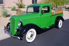 1936 FORD 239 V8 VINTAGE PICKUP TRUCK